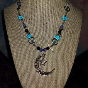 Jewelry - A 26 in handmade beaded necklace